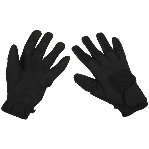 "Fingerhandschuhe, ""Worker light"", schwarz"